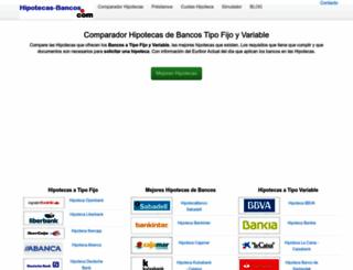 hipotecas-bancos.com screenshot