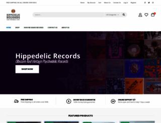 hippedelicrecords.com screenshot