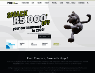 hippo.co.za screenshot