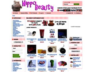 hippobeauty.com screenshot