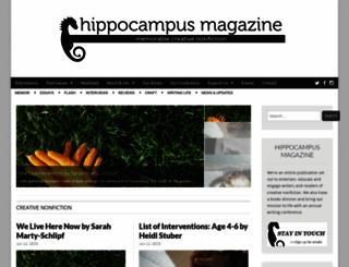 hippocampusmagazine.com screenshot