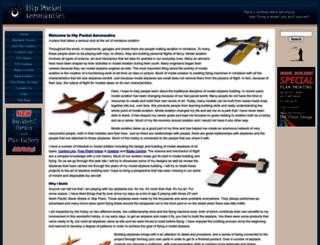 hippocketaeronautics.com screenshot