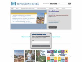 hippocrenebooks.com screenshot