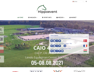 hippoevent.at screenshot