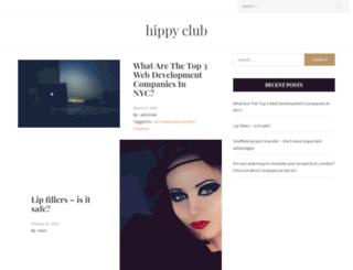 hippyclub.co.uk screenshot