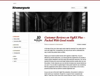 hiramargueta.wordpress.com screenshot