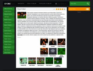 hircinfutbol.oyunu.net screenshot