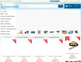 hirdavatmarketim.com screenshot