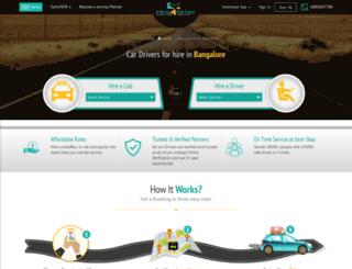 hire4drive.in screenshot