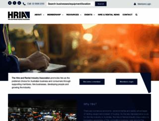 hireandrental.com.au screenshot
