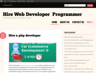 hireaphpdeveloper.blog.com screenshot