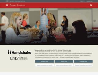hirearebel.unlv.edu screenshot