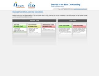 hirechangeterm.integrityworkforce.net screenshot