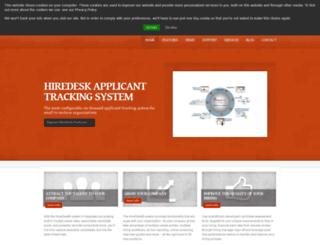 hiredesk.com screenshot
