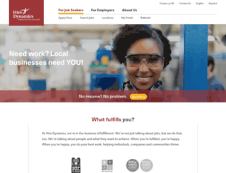 hiredynamics.com screenshot