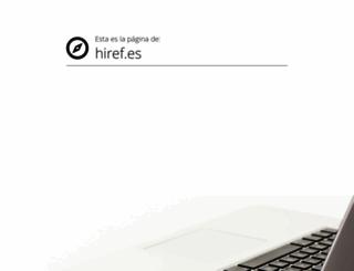 hiref.es screenshot