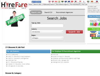 hirefire.com.np screenshot