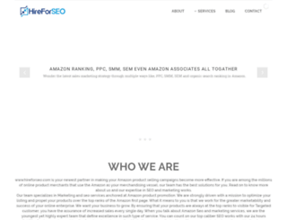 hireforseo.com screenshot
