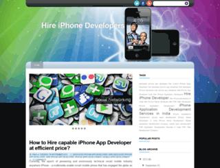 hireiphonedevelopersindia.blogspot.in screenshot