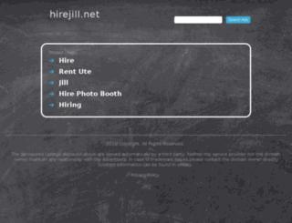 hirejill.net screenshot