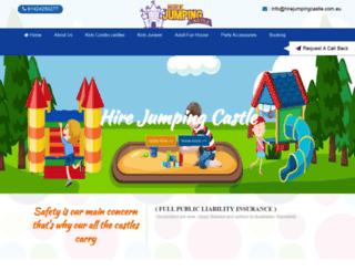 hirejumpingcastle.com.au screenshot