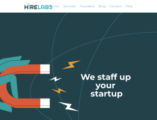 hirelabs.com screenshot