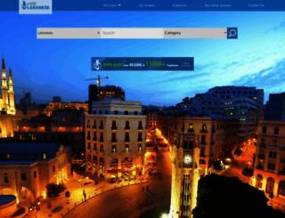 hirelebanese.com screenshot