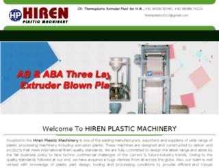 hirenplastic.com screenshot
