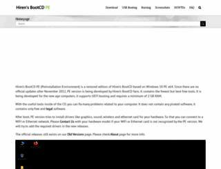 hirensbootcd.org screenshot