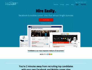 hirerabbit.com screenshot