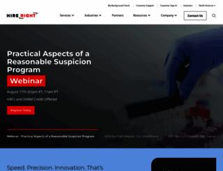 hireright.com screenshot