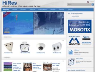 hires.com.tr screenshot