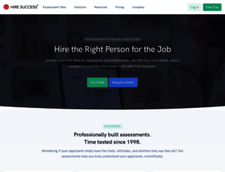hiresuccess.com screenshot
