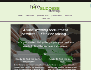 hiresuccessstaffing.com screenshot