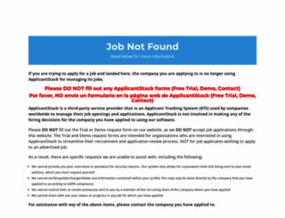 hiretalentservices.applicantstack.com screenshot