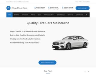 hiretaxi.com.au screenshot