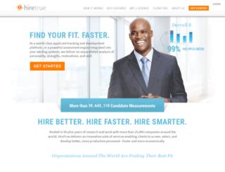 hiretrue.com screenshot