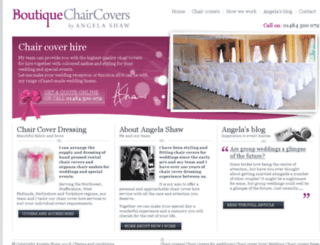 hireweddingchaircovers.co.uk screenshot