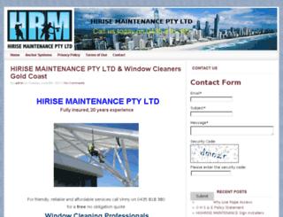 hirisemaintenance.com screenshot