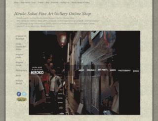 hirokosakai.com screenshot