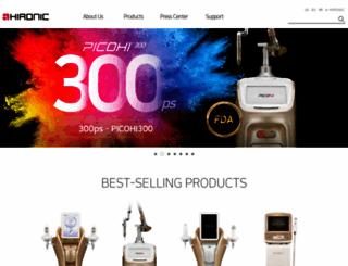 hironic.com screenshot