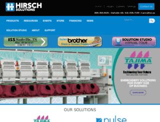 hirschinternational.com screenshot