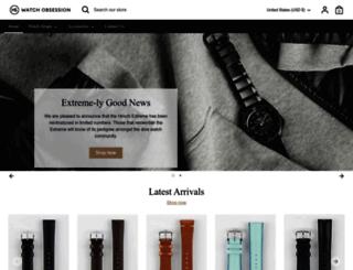 hirschstraps.com screenshot