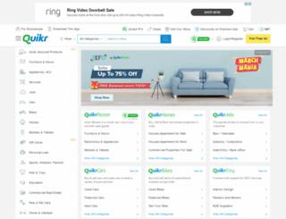 hisar.quikr.com screenshot