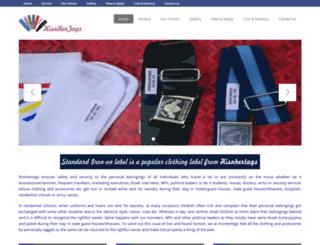 hisnhertags.com screenshot