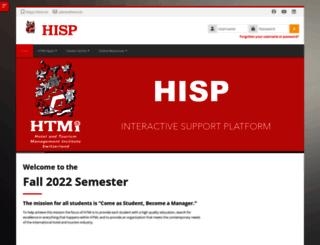 hisp.htmi.ch screenshot