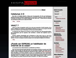 hispalinux.es screenshot