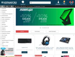 hispamicro.com screenshot