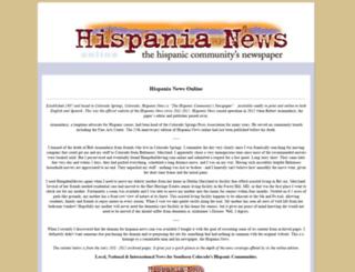 hispania-news.com screenshot