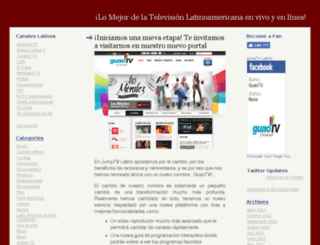 hispanic-tv.jumptv.com screenshot